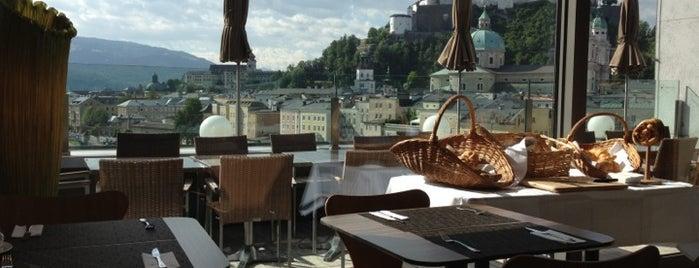 Steinterrasse café.bar.lounge. is one of SalzundSee.
