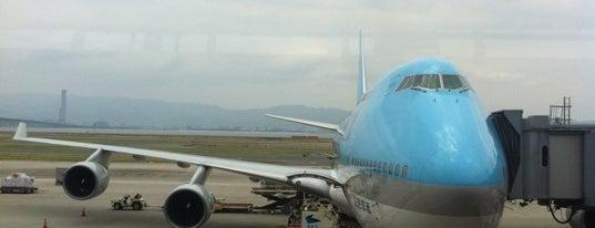 สนามบินนานาชาติคันไซ (KIX) is one of AIRPORT.
