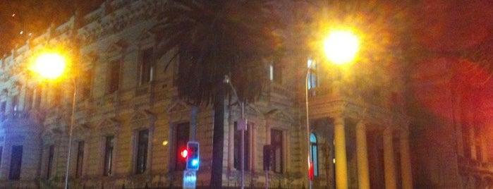 Academia Diplomática de Chile (Palacio Septiembre) is one of Lugares, plazas y barrios de Santiago de Chile.