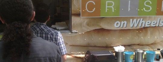 The Crisp food truck is one of Joggernaut NY.