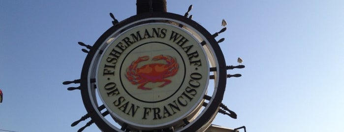 Fisherman's Wharf is one of 101 places to see in San Francisco before you die.