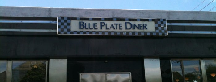 Blue Plate Diner is one of Tempat yang Disukai Sweet Addiction.