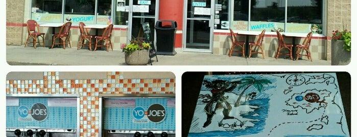 Yo-Joe's Frozen Yogurt & Coffee Shoppe is one of Tried & True.