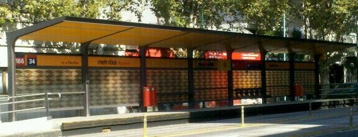 Metrobus - Estación Aguirre is one of Jimmy 님이 좋아한 장소.