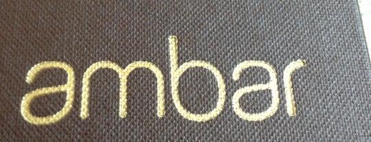 Ambar Bar is one of BYO.