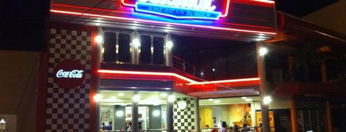Cadilac American Burger is one of Rosimery.