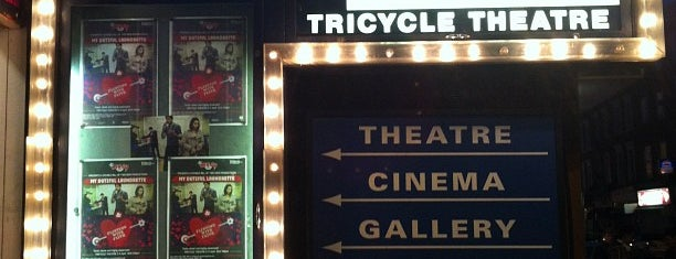Tricycle Theatre is one of Tired of London, Tired of Life (Jul-Dec).