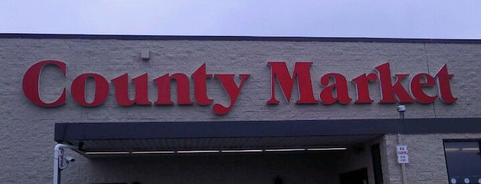 County Market is one of check ins.