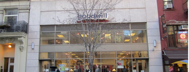 Goodwill is one of Thrift NYC.
