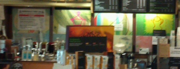 Starbucks is one of Tempat yang Disukai Mario.
