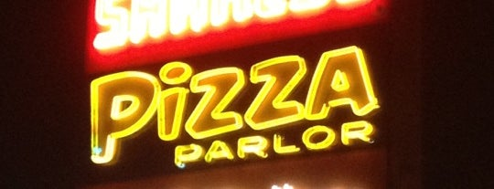Shakey's Pizza Parlor is one of Los Angeles.