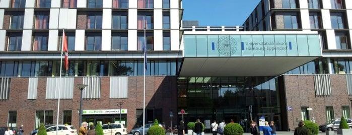 Universitätsklinikum Hamburg-Eppendorf (UKE) is one of Locais curtidos por Antonia.