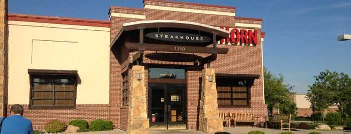 LongHorn Steakhouse is one of สถานที่ที่ Chris ถูกใจ.