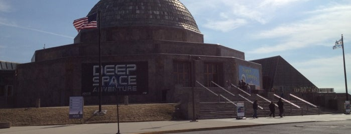 Adler Planetarium is one of Places To Go To In Chicago.