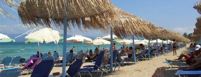 Ιππόκαμπος Beach Bar is one of Lugares guardados de Stella.