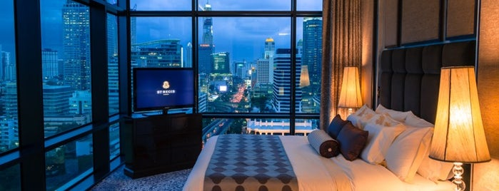 The St. Regis Bangkok is one of Starwood Experience.