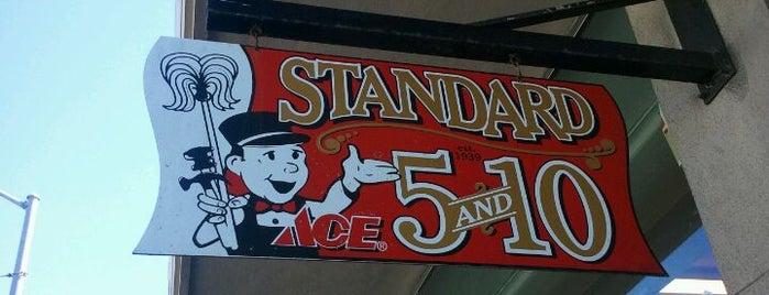Standard 5 & 10 Ace is one of Lugares favoritos de Brad.