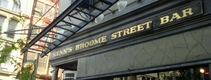Kenn's Broome Street Bar is one of USA - NEW YORK - BAR / RESTAURANTS.