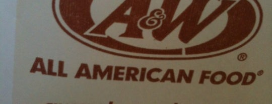 A&W Restaurant is one of Samさんの保存済みスポット.
