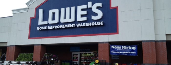 Lowe's is one of ATL_Hunter 님이 좋아한 장소.