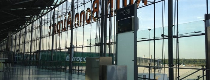 Köln Bonn Airport (CGN) is one of Airports (around the world).