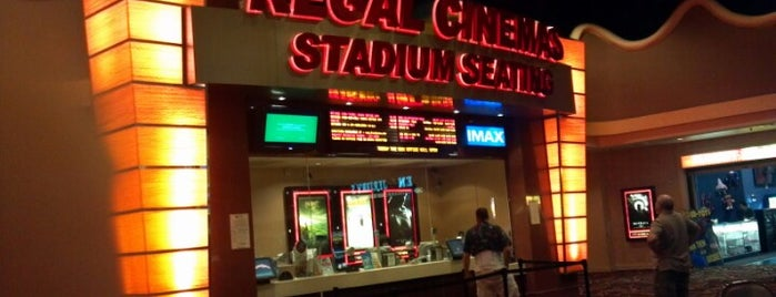 Regal Cinemas Sunset Station 13 & IMAX is one of Tempat yang Disukai Ebony.
