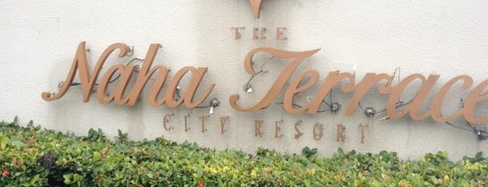 The Naha Terrace is one of The vest hotel.