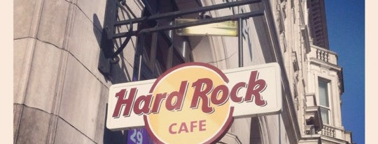 Hard Rock Cafe London is one of USA in London.