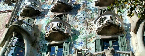 Casa Batlló is one of Barcelona City Guide.