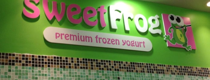 sweetFrog is one of Lieux qui ont plu à Ashley.
