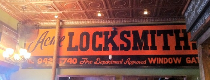 Locksmith Bar is one of Corcoran's Most Popular Tips In Manhattan MegaList.