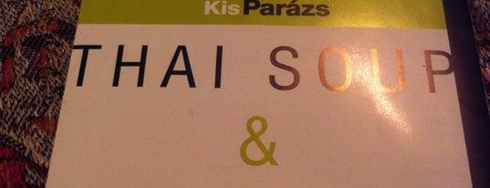 KisParázs Thai Soup & Wok Bar is one of Világbüfé - Etnikai konyhák Budapesten.
