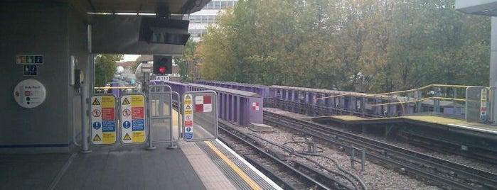Wood Lane London Underground Station is one of Underground Stations in London.