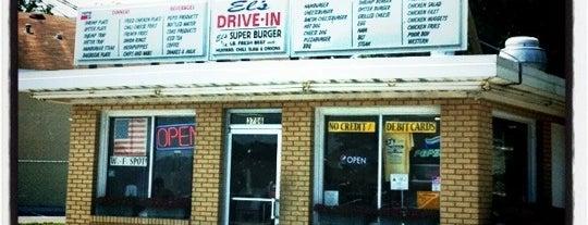 El's Drive-In is one of Locais salvos de Tracy.