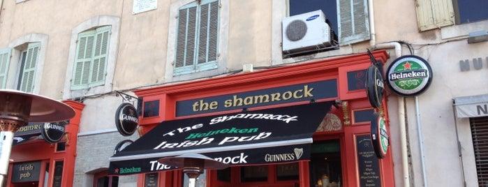 The Shamrock is one of Strazburg-Nice-Marsilya.
