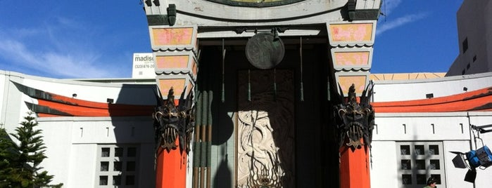 TCL Chinese Theatre is one of Living in LA for a year.
