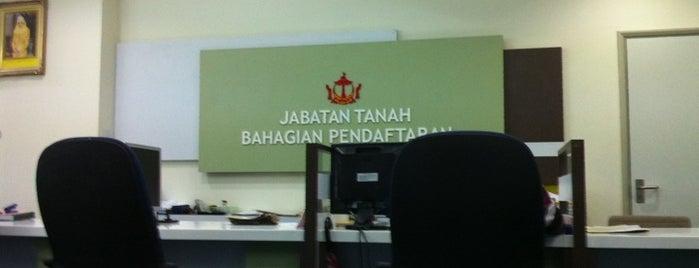 Jabatan Tanah is one of Orte, die S gefallen.