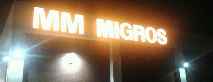 Migros is one of Locais curtidos por Can.