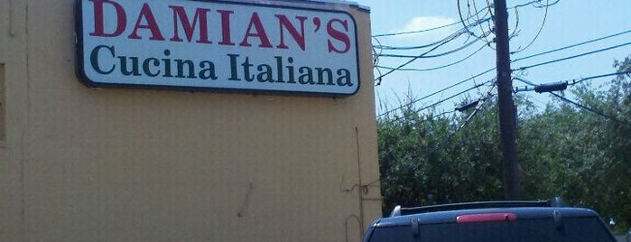 Damian's Cucina Italiana is one of HTOWN🌃⛽️🔥🔥.