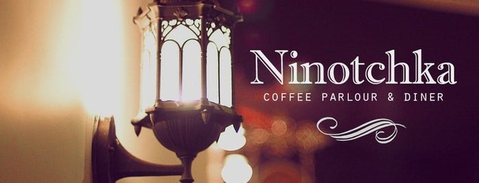 Ninotchka Coffee Parlour & Diner is one of Delish!.