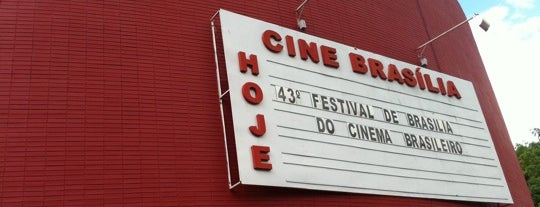 Cine Brasília is one of Oscar Niemeyer [1907-2012].