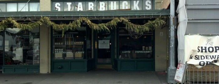 Starbucks is one of Portland, Seattle, and Vancouver.