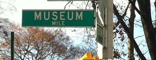 Museum Mile is one of NYC.