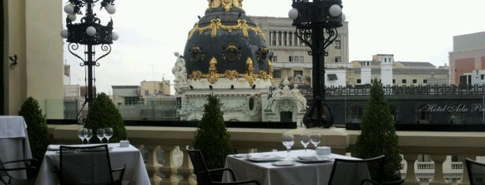 Terraza 360 Ada Palace Hotel is one of The Best Of Madrid.