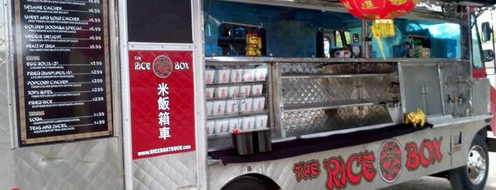 The Rice Box is one of Food Trucks.