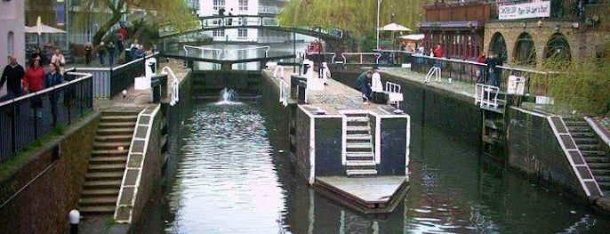Camden Lock is one of London Markets & Food Stalls.