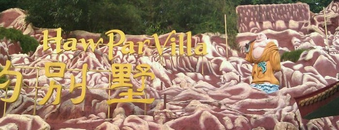 Haw Par Villa is one of Singapore's Popular Places.