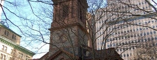 St. Paul's Chapel is one of IWalked NYC's Lower Manhattan (Self-guided Tour).