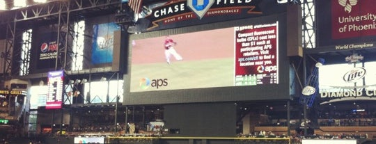 Chase Field is one of Mission: Arizona.