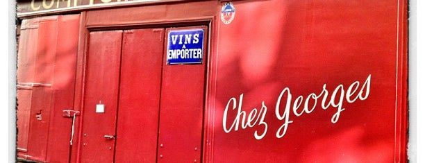 Chez Georges is one of Orte, die Paris by wine gefallen.